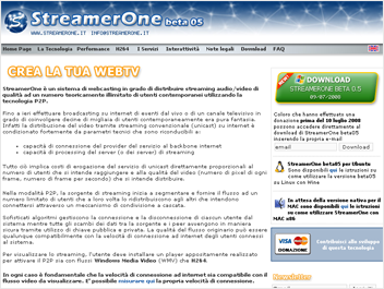 www.streamerone.it